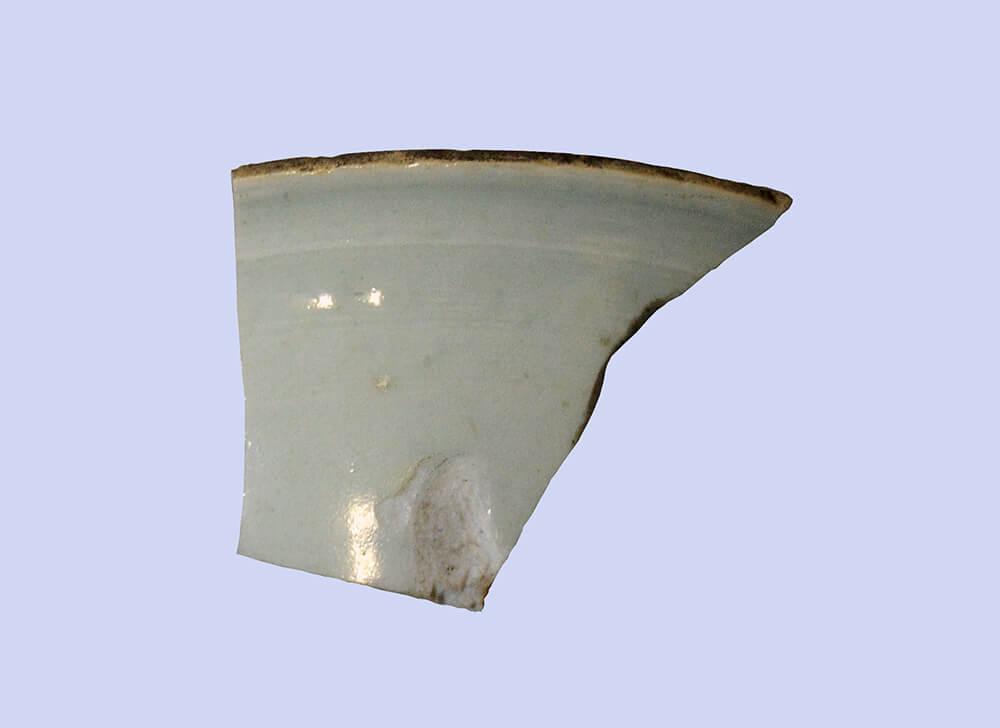 中国産白磁碗