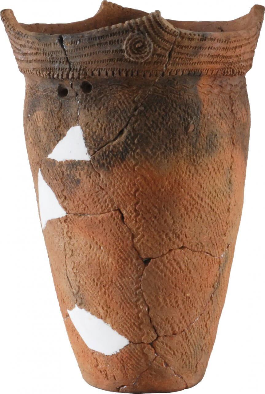 深鉢形土器 円筒下層d2式(畑内遺跡出土)