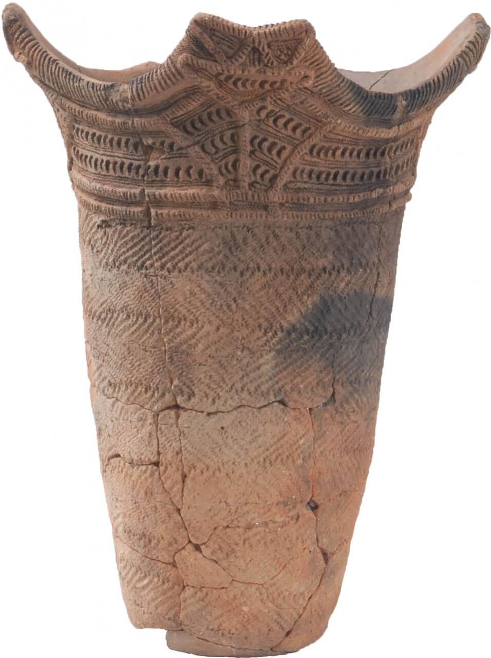 深鉢形土器 円筒上層b式(一王寺遺跡出土)