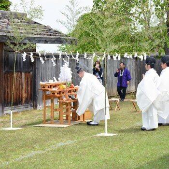根城記念祭(現在の様子)