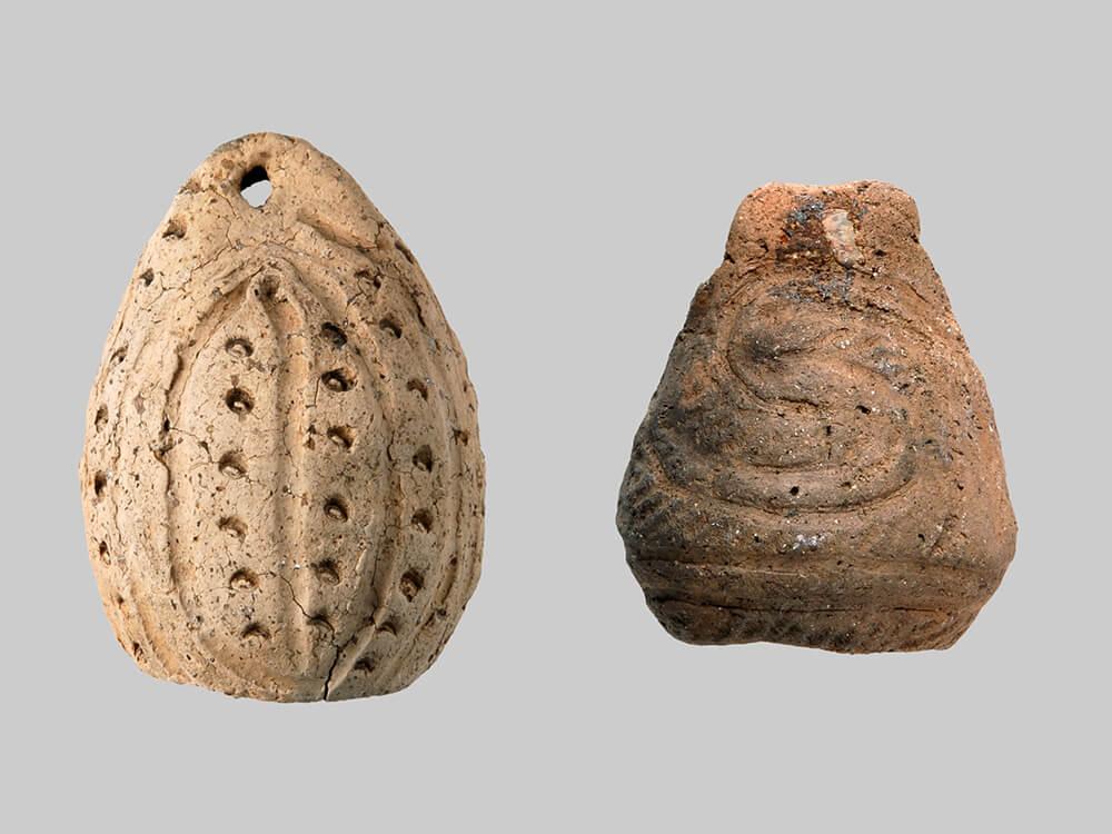 鐸形土製品(丹後谷地(1)(2)遺跡出土)