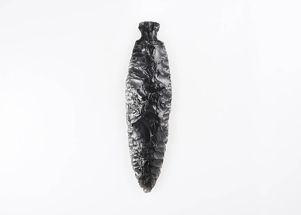 黒曜石製石匙(熊ノ林遺跡出土)