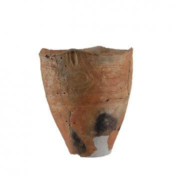 続縄文土器(後北C2-D式土器)