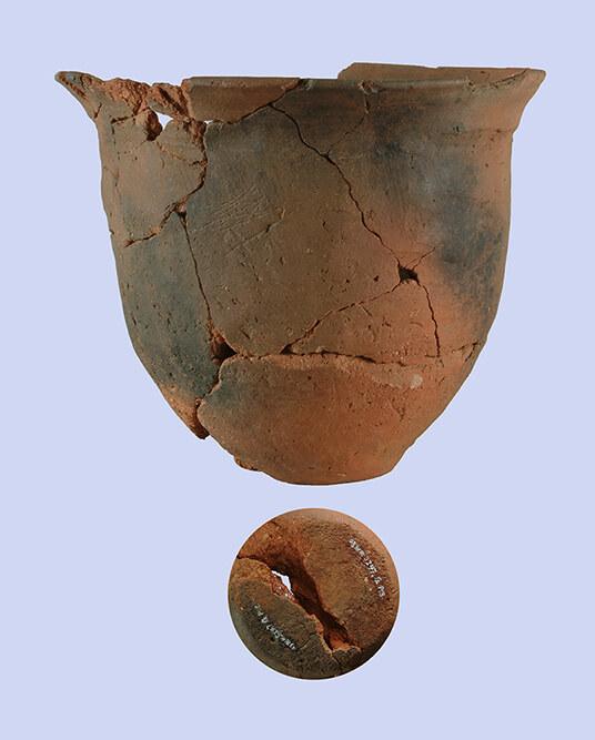 胎土が赤褐色の土師器甕