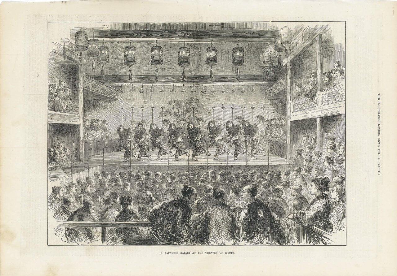 イラストレイテッドロンドンニュースの挿絵『THE ILLUSTRATED LONDON NEWS 1873年2月15日号』より